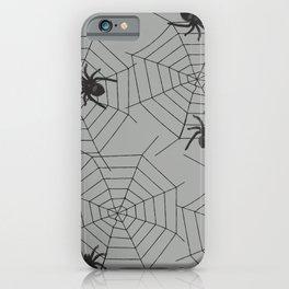 Hallween Spider web iPhone Case