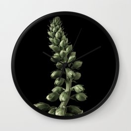 Blooming Plant Wall Clock