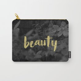 Beauty - Gold Handlettering - Voyageurs National Park Photograph Carry-All Pouch