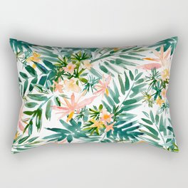 VACAY VIBES Tropical Palm Rectangular Pillow