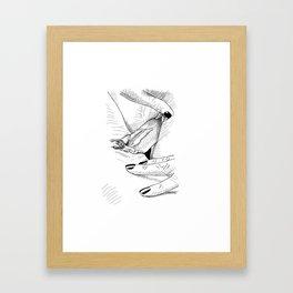 Girls Love Framed Art Print