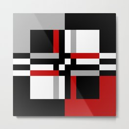 Geometric pattern 7 Metal Print