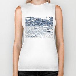 Charles River Esplanade Biker Tank