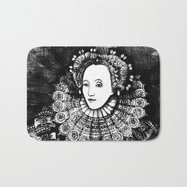 Queen Elizabeth I Portrait  Bath Mat