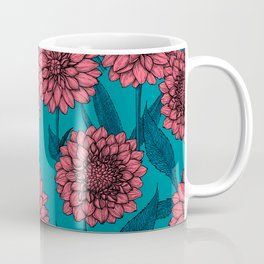 Dahlias Coffee Mug
