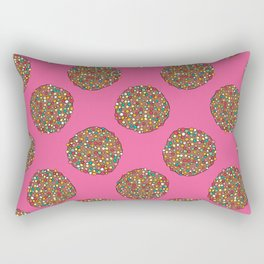 FRECKLES - PINK Rectangular Pillow