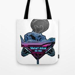 Futuristic DJ Tote Bag