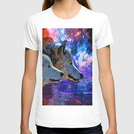 NEBULA WOLF OF THE NIGHT T-shirt
