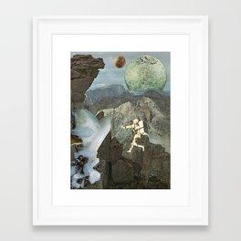 Phobos Framed Art Print