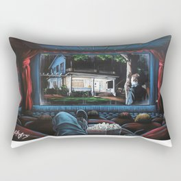 A Night At The Movies: Halloween Rectangular Pillow