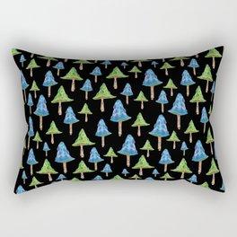 """Mushroom forest 2"" Rectangular Pillow"