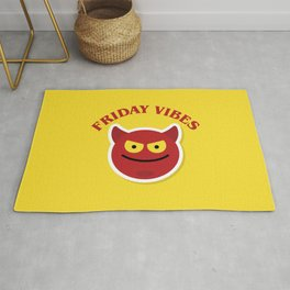 Friday Vibes, the best week day. Rug
