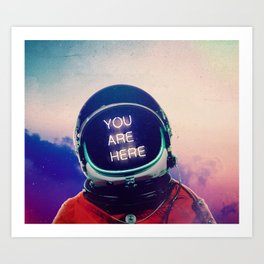 Where You Are Art Print