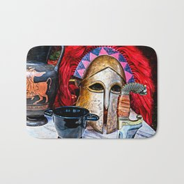 Glory of the heroic age Bath Mat