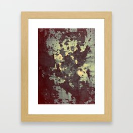 silver and bronze Framed Art Print