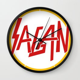 Sagan Slayer Wall Clock