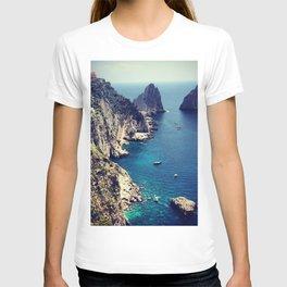 take me to capri. T-shirt