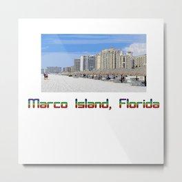 Marco Island, Florida 9 Metal Print