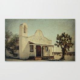 The Sanctuary Adventist Church a.k.a The Kill Bill Church Canvas Print