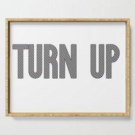 Turn Up | Hip Hop Rap Drugs Gift Idea Serving Tray