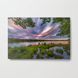 Eagle Lake Sunset - image 4 Metal Print