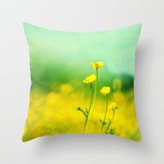 Happy, Smiling & Laughing Throw Pillow