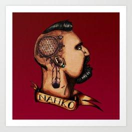 Nahko Bear Fan Made Art Art Print
