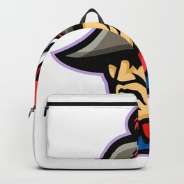Emperor Head Mascot Backpack