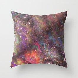 fractal: aurora borealis Throw Pillow