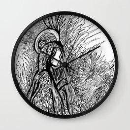 angel of light Wall Clock