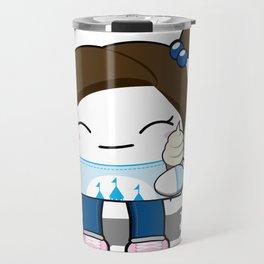 Kawaii Ice Cream Girl Travel Mug