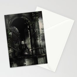 Hallween Queen 3 Stationery Cards