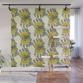 Kowhai Flowers Pattern Wall Mural