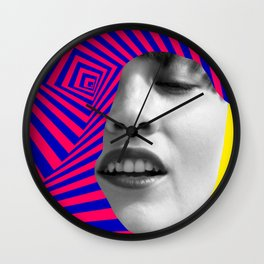 Optical Portrait Wall Clock