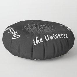 Universal Gratitude DK Floor Pillow