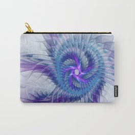 Swirl, Abstract Fractal Art Carry-All Pouch
