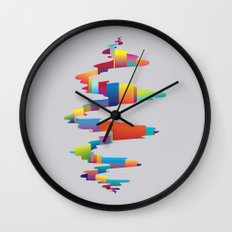 After the earthquake Wall Clock
