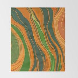 Shiva Abstract6 Throw Blanket
