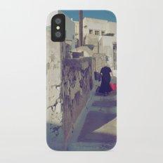 Streets of Santorini IV Slim Case iPhone X