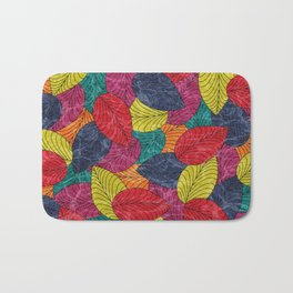 Let the Leaves Fall #02 Bath Mat