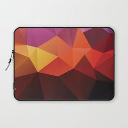 Abstract geometric triangle background Laptop Sleeve