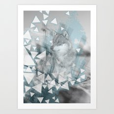 Winter Spirit Art Print