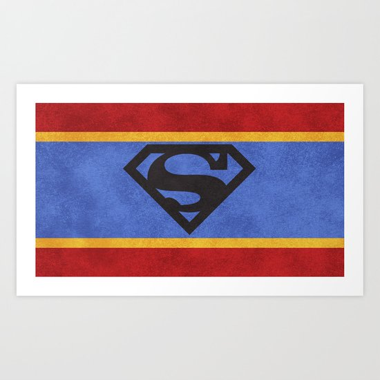Super Colors Art Print