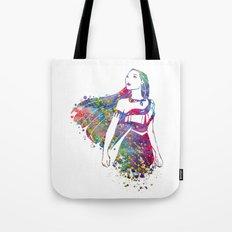 Princess Pocahontas Tote Bag