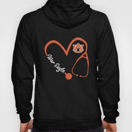 war eagle nurse Hoody