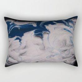 The Blue Wave Rectangular Pillow