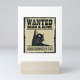Schrodingers Cat  Mini Art Print