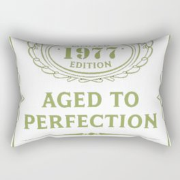 Green-Vintage-Limited-1977-Edition---40th-Birthday-Gift Rectangular Pillow