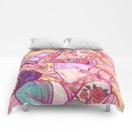 Solitary Moon Comforters