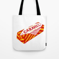 Caramel Wafer pen drawing Tote Bag